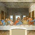 Last Supper by Leonardo Da Vinci