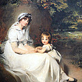 Lawrence's Lady Mary Templetown And Her Eldest Son by Cora Wandel