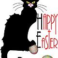 Le Chat Noir - Easter by Gravityx9  Designs