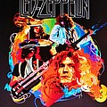 Led Zeppelin Art by Donna Wilson