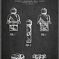 Lego Toy Figure Patent - Dark by Aged Pixel