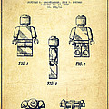 Lego Toy Figure Patent - Vintage by Aged Pixel