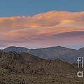 Lenticular Clouds Over Alabama Hills by John Shaw