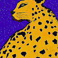 Leopard At Midnight by Dale Moses
