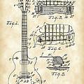 Les Paul Guitar Patent 1953 - Vintage by Stephen Younts
