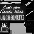 Lexington Candy Shop In Black And White by Rob Hans