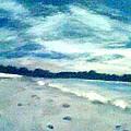 Lido Beach Evening by Suzanne Berthier