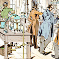 Liebigs Laboratory At Giessen, 1842 by Wellcome Images