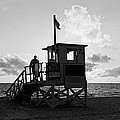 Lifeguard Hut On The Beach, 22nd St by Panoramic Images