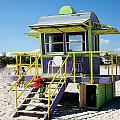 Lifeguard Station by Carol Ailles