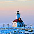 Lighthouse On Ice by Rick Jackson