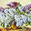 Lilac Flowers by Schmidt Roger