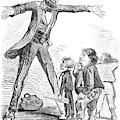 Lincoln Cartoon, 1865 by Granger