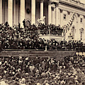 Lincoln's Inauguration, 1865 by Granger