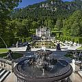 Linderhof And Royal Garden by Radka Linkova