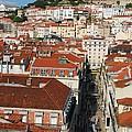 Lisbon Cityscape by Luis Alvarenga