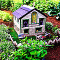Little Garden Farmhouse by Sherman Perry
