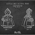 Little Red Riding Hood Patent Drawing From 1943 by Aged Pixel