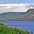 Long Range Mountains In Western Nl by Ruth Hager