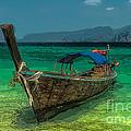 Longboat by Adrian Evans
