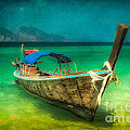 Longboat Thailand by Adrian Evans
