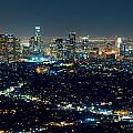 Los Angeles At Night by Songquan Deng