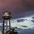 Los Lunas Water Tower by Angus Hooper Iii