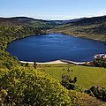 Lough Tay Below Luggala Mountain by Panoramic Images