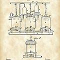 Louis Pasteur Beer Brewing Patent 1873 - Vintage by Stephen Younts