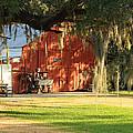 Louisiana Barn by Ronald Olivier