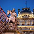 Louvre Twilight by Brian Jannsen