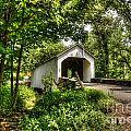 Loux Covered Bridge by Traci Law