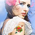 Love Heart And Arrow Tattoo by Jorgo Photography - Wall Art Gallery