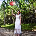 Love Heart Balloons  by Jorgo Photography - Wall Art Gallery