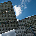 Low Angle View Of Solar Panels by Panoramic Images