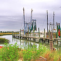 Lowcountry Shrimp Dock by Scott Hansen