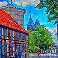 Lund Street Scene by Antony McAulay