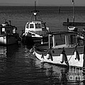 Lynmouth Harbour In Devon by Louise Heusinkveld