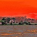 Louisiana Sunset Of The Madisonville Lighthouse  by Luana K Perez