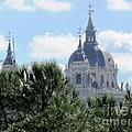 Madrid Skyline by Ted Pollard