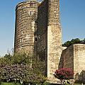 Maidens Tower In Baku Azerbaijan by Jacek Malipan