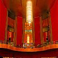 Main Lobby Radio City Music Hall by Dave Mills