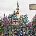 Main Street Sleeping Beauty Castle Disneyland 01 by Thomas Woolworth
