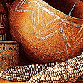 New Orleans Maize The Indian Corn Still Life In Louisiana  by Michael Hoard