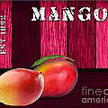 Mango Farm Sign by Marvin Blaine