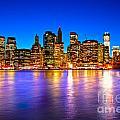 Manhattan - New York City by Luciano Mortula