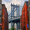 Manhattan Bridge View by Dave Mills