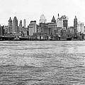 Manhattan Skyline by Underwood Archives