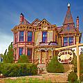 Mansion On Main Smithfield by Jerry Gammon