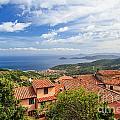 Marciana Village - Elba Island by Antonio Scarpi